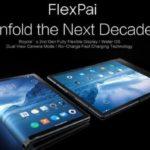 世界首支摺疊手機面世,中國 FlexPai 柔派搶先推出 – Android-Seettings