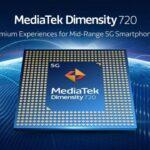 MediaTek Dimensity 720 中階5G 處理器發表